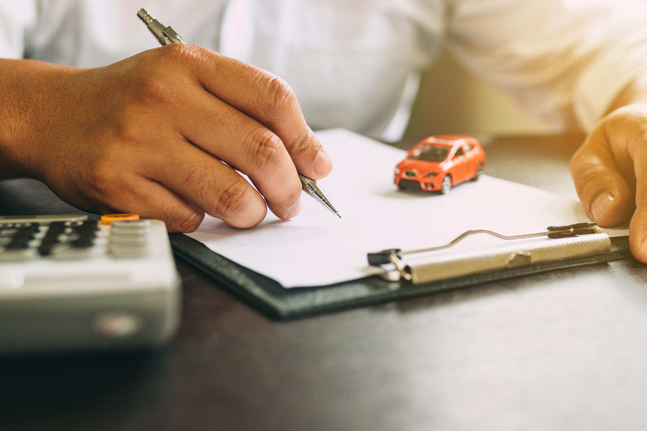 Calcul de crédit auto